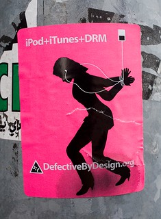 DRM, Defective by Design   by Thomas Hawk