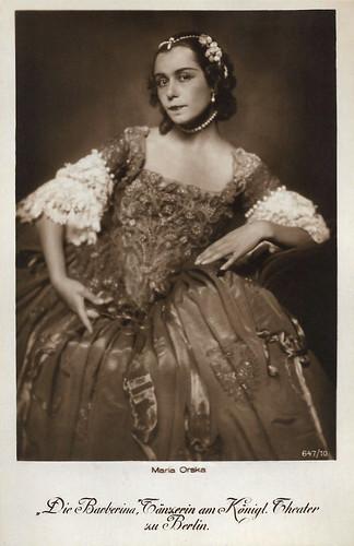 Maria Orska in Fridericus Rex (1922-1923)