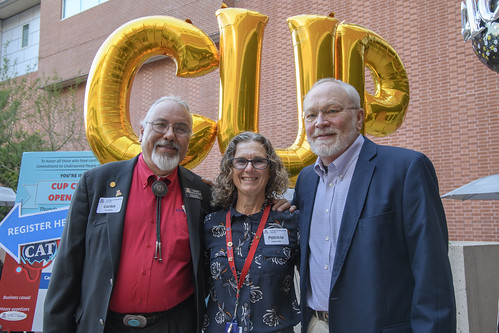 On Thursday, Oct. 18, the College of Medicine – Tucson celebrated the 40th anniversary of its Commitment to Underserved People (CUP) program. Alumni, faculty, staff and students converged on the UAHS plaza to learn about CUP and how it continues to serve the greater Southern Arizona community.