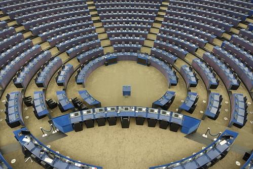 Hemicycle @ European Parliament @ European district @ Strasbourg | by *_*