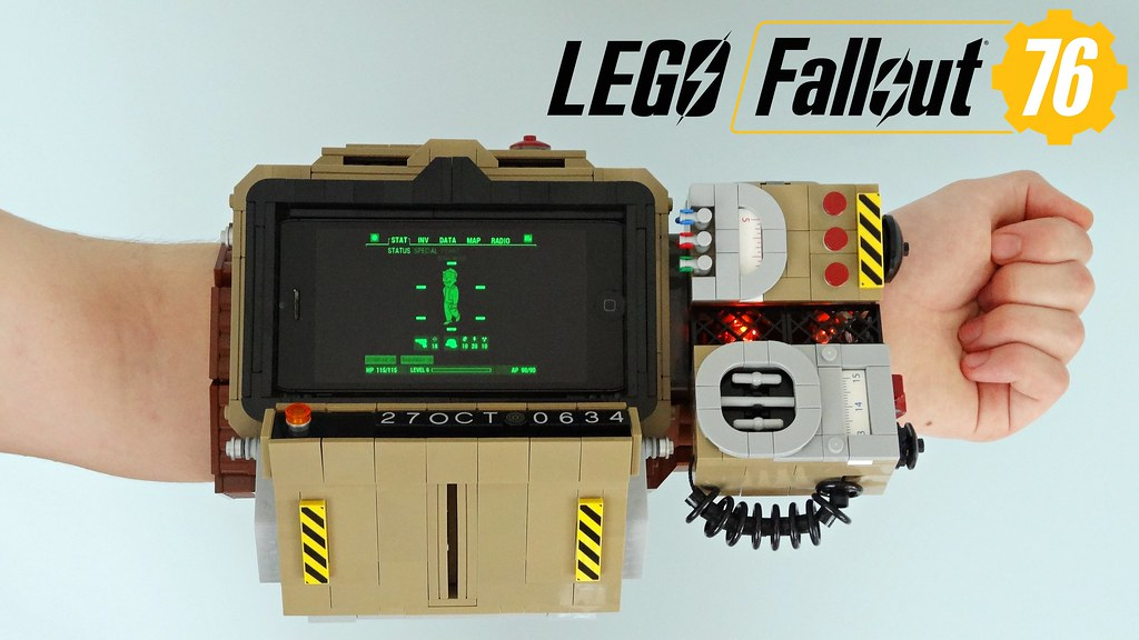 Lego Fallout 76 Pip-Boy 2000 MK VI | I'm super excited for F… | Flickr