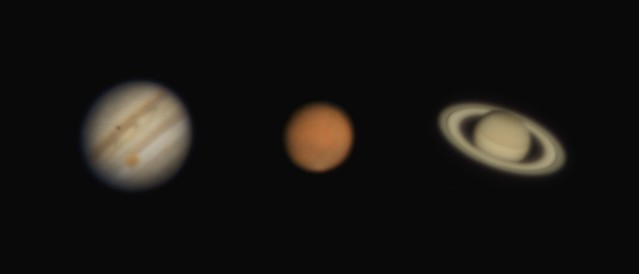 A trio of planets