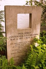 Churchill Downs Twin Spires Centennial marker