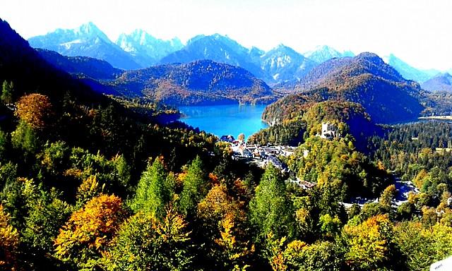 El lago Schwan