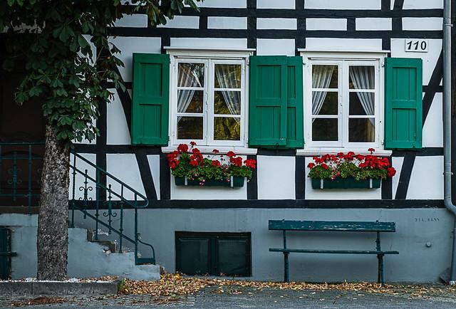 Fachwerkhaus im Bergischen Land