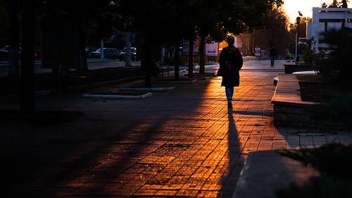 Sunset in Tiraspol - Moldova - Street photography   by Giuseppe Milo (www.pixael.com)