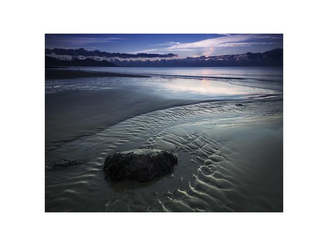 'Blue hour Dinas Dinlle' (Explored 30/10/18).
