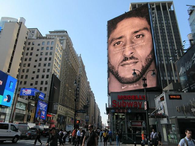 Colin Kaepernick - Just Do It - Nike Billboard 1267