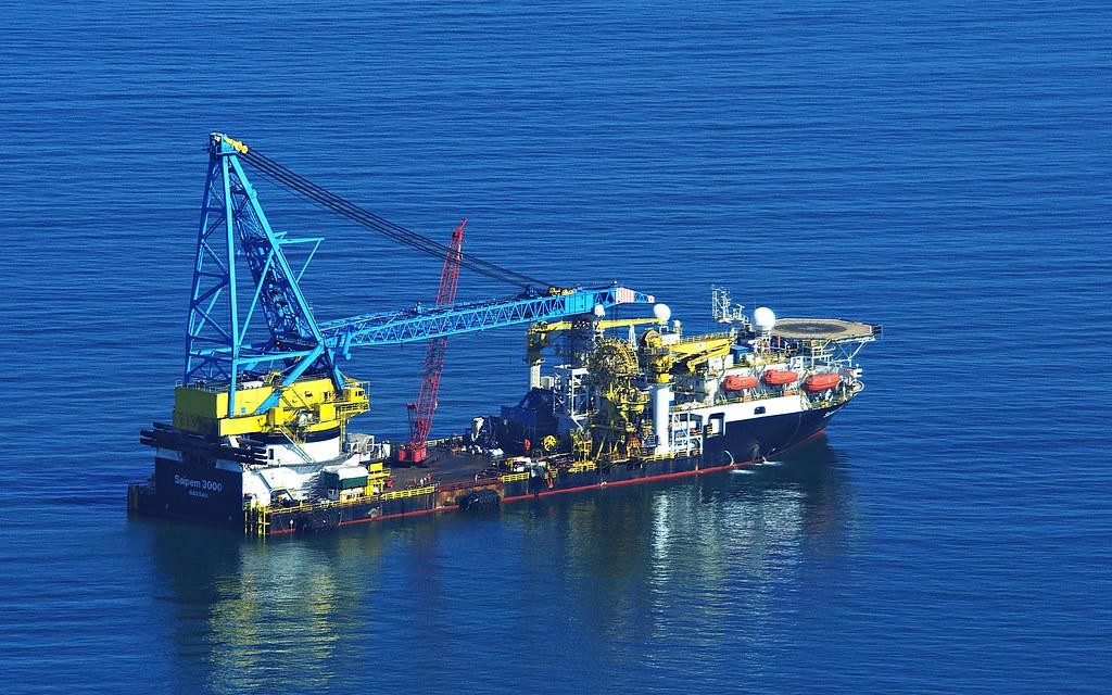 Saipem 3000 floating crane | Off Walvis Bay, Namibia  | Flickr