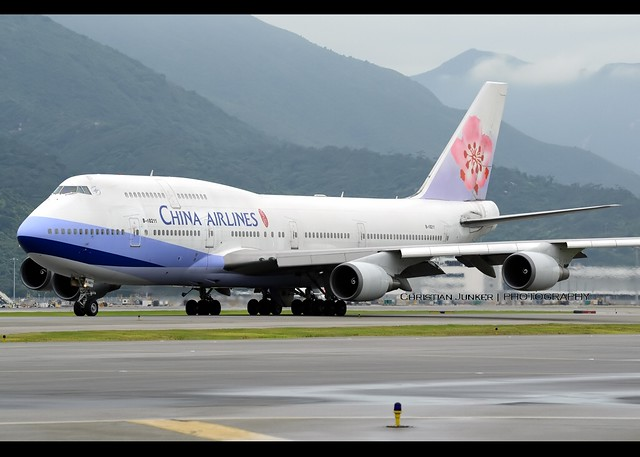 B747-409 | China Airlines | B-18211 | HKG