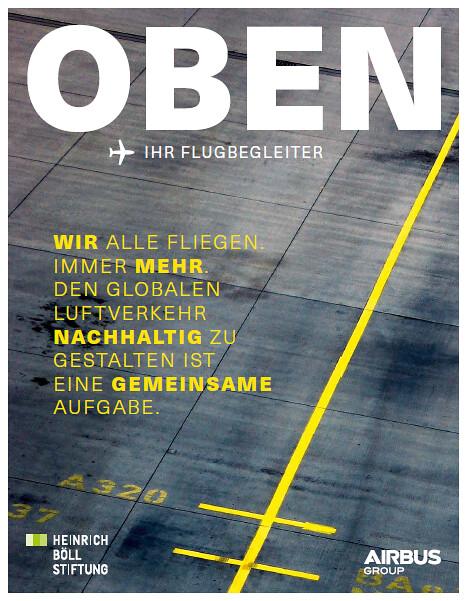 Oben - Ihr Flugbegleiter