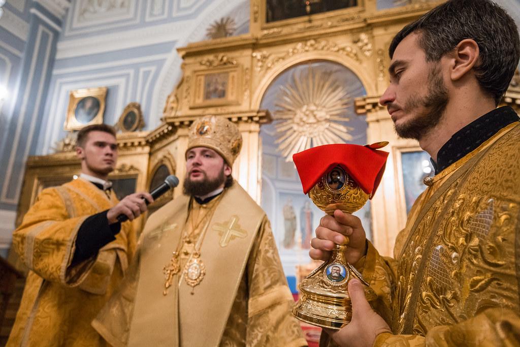 21 октября 2018, Первая молодежная литургия / 21 October 2018, First Liturgy for the youth