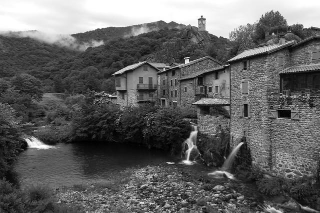 Burzet in the Ardeche - France