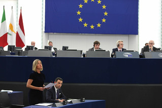 Participation of Federica Mogherini at the Plenary session of the EP | by European External Action Service - EEAS