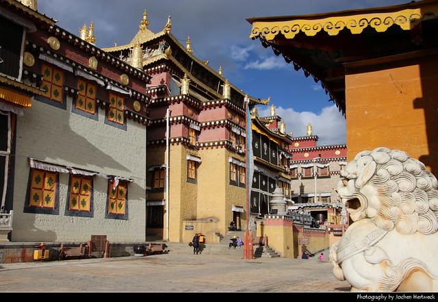 Ganden Sumtseling Monastery, Shangri-La, Yunnan, China