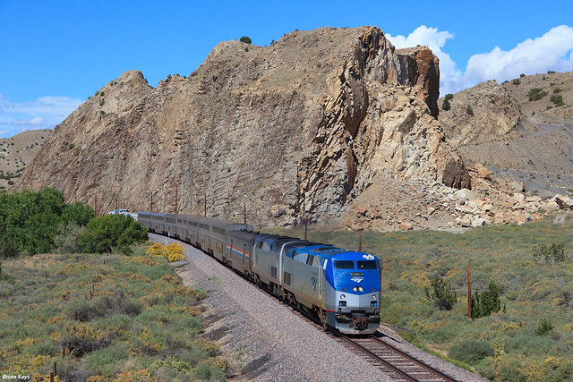 The Southwest Chief at the Devil's Throne [Explored]