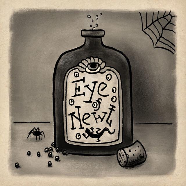 Bottle | Inktober Day 18