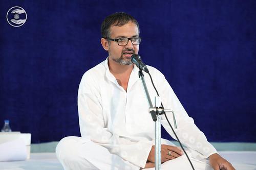 Stage Secretary, Vivek Rafiq from Sant Nirankari Colony