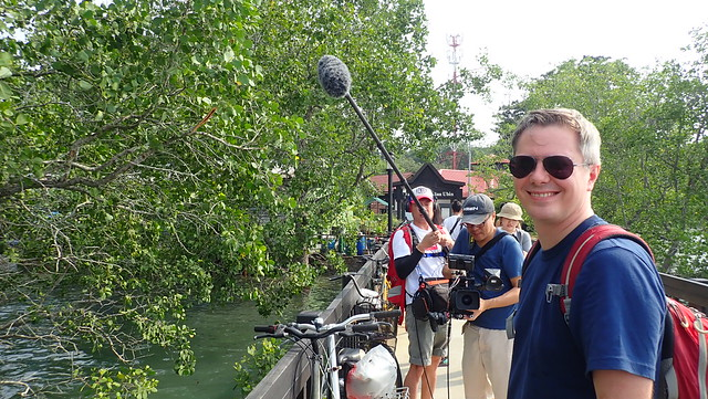 Filming Restore Ubin Mangroves (R.U.M.) Initiative