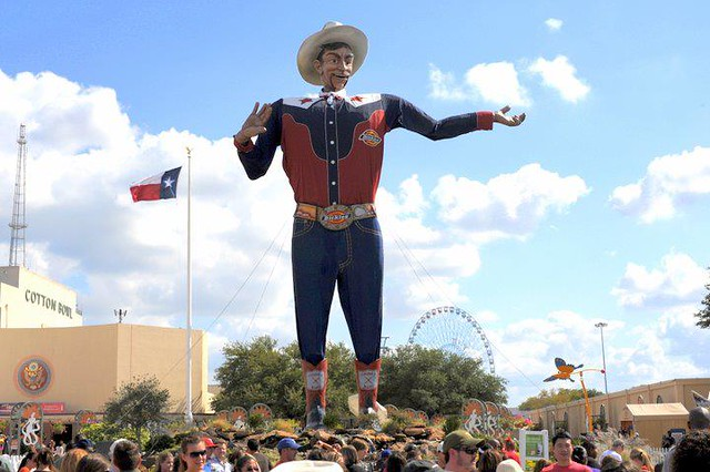 Big Tex - State Fair of Texas. Dallas,Texas.