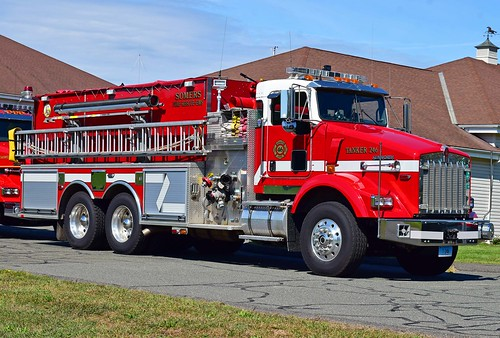 fire somers ct truck kenworth tanker kme