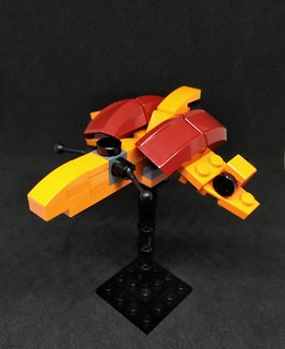 Riverguard Class Escort Fighter | by Vitoria Faria