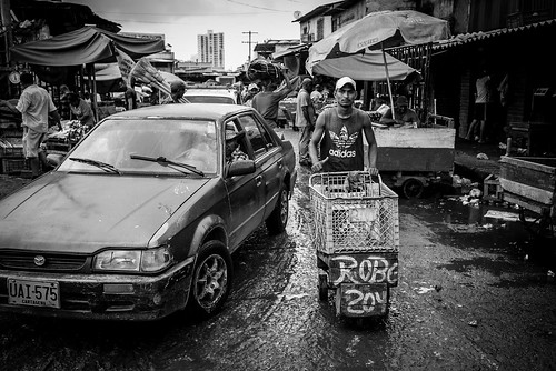 Market People in BW, Cartagena (Colombia) | by ufapix