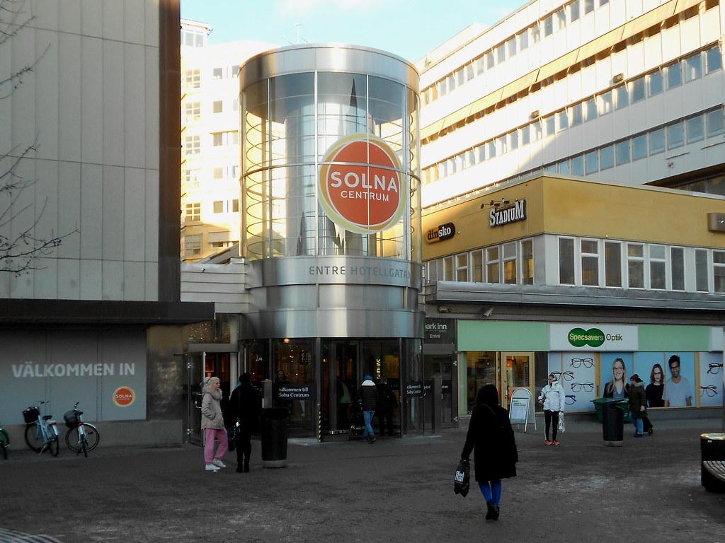 """Торговый центр """"Solna Centrum"""""""