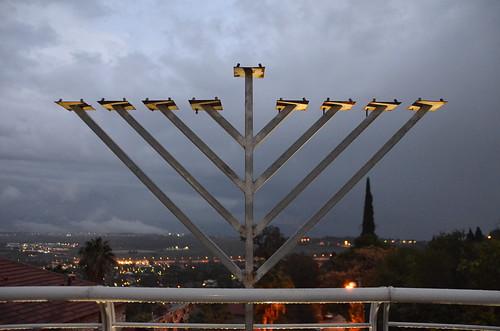 israel roshpina roshpinna ראשפינה roshpinah nimrodlookout nimrodsegev memorial menorah ישראל