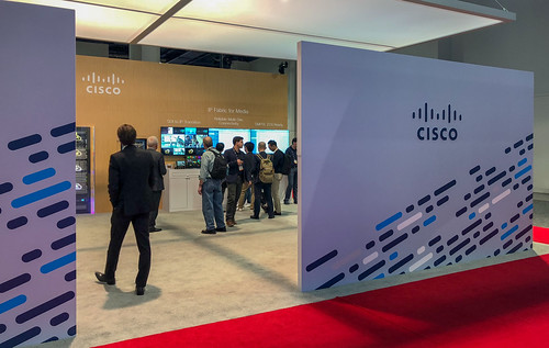 Cisco NAB 2018 Booth | by peterl