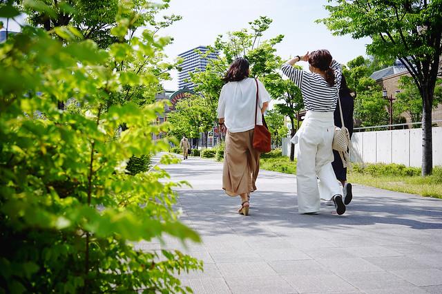 Nakanoshima osanpo