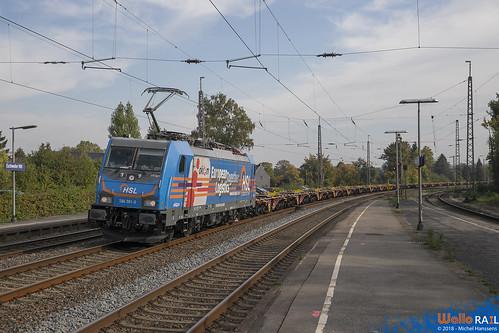 186 381 . E41595 . Eschweiler Hbf . 09.10.18.