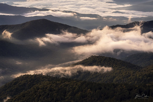 sunrise mountain northcarolina smoky greatsmokies appalachian clingmans clingmansdome early morning tennessee