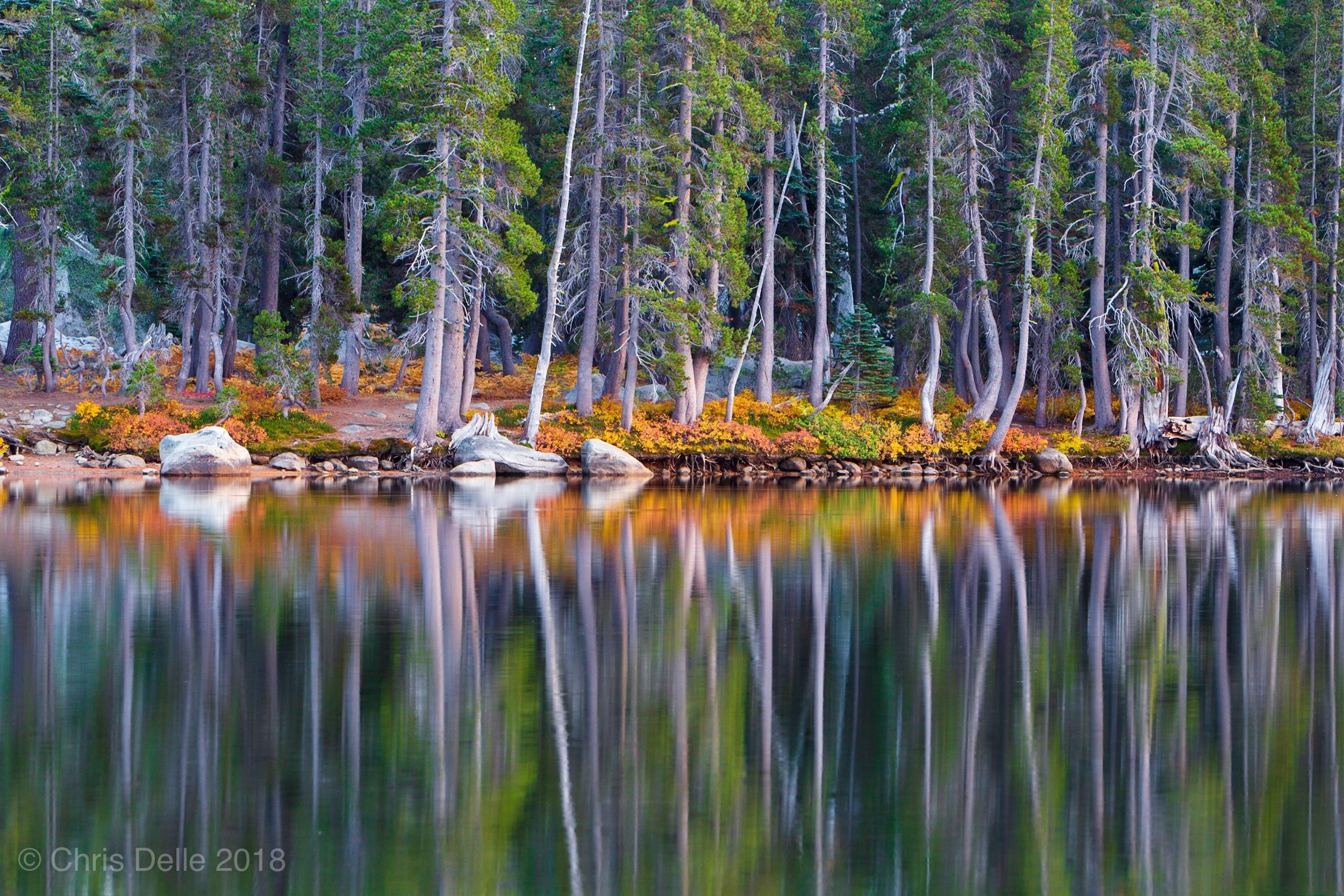 Elevation of Union Valley Reservoir, California, USA ...