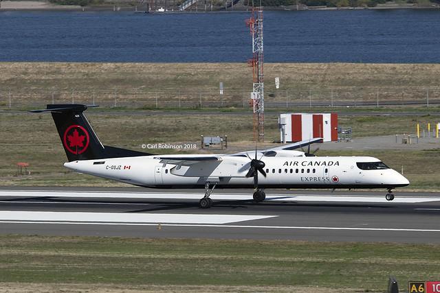 Jazz Air (Air Canada Express) Dash 8 Q400 C-GSJZ
