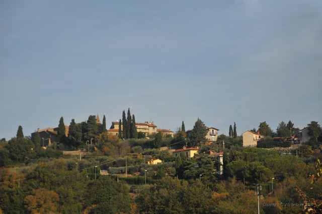 Typical Tuscan Neighbourhood
