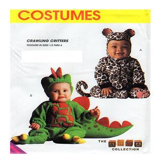 McCalls 7862 baby costume pattern