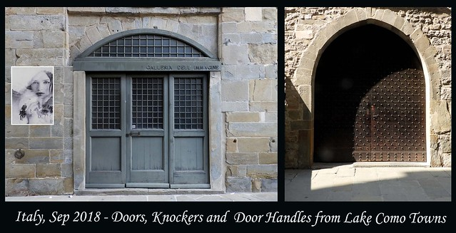ITALY SEP 2018 - Lake Como Doors and Knockers (79 & 80)