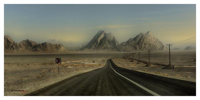 en la carretera hacia ningún lugar/ On the road to nowhere