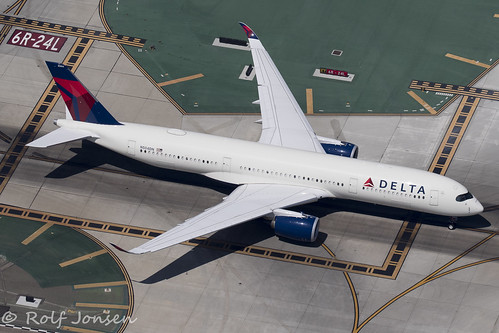 N504DN Airbus A350-900 Delta Airlines Los Angeles airport KLAX 12.09-18 | by rjonsen