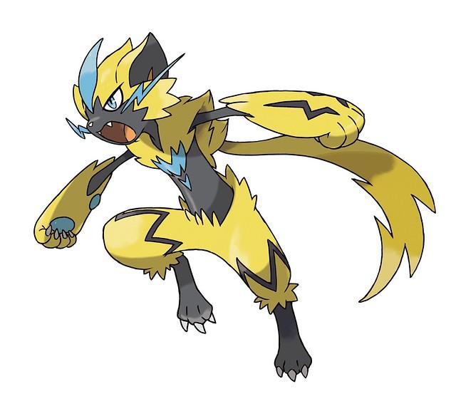 Zeraora October Mythic Pokémon