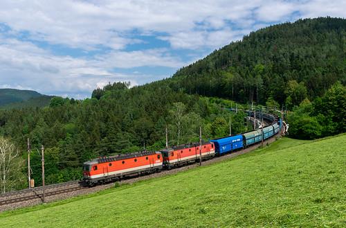 öbb1144 öbb semmering train güterzug landscape austria freight nikon