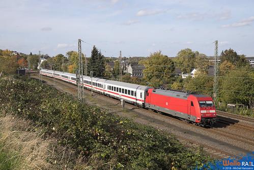 101 021 . IC2404 . Eschweiler Hbf .12.10.18.