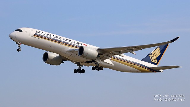 9V-SMO Singapore Airlines Airbus A350-941