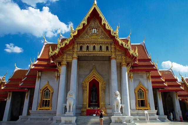 Marble temple, Bangkok