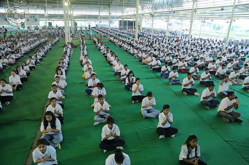 Yoga by participants