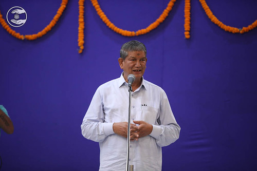 Welcome by Former Chief Minister Uttarakhand, Harish Rawat Ji