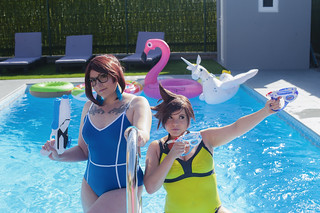 Overwatch Pool Party | by ...nelene...