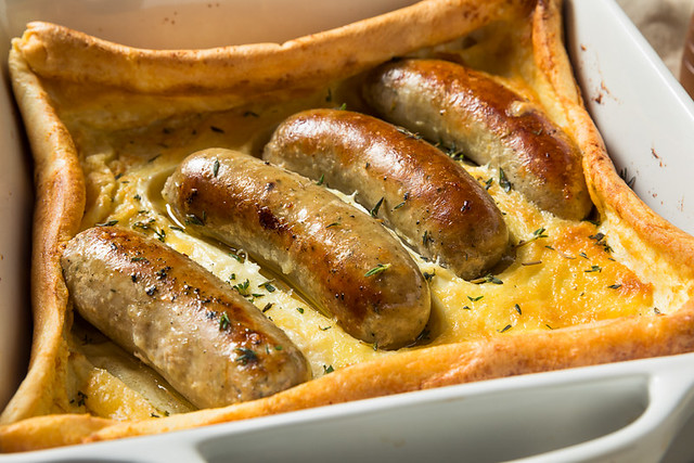 Homemade English Toad in the Hole