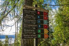 Hikiing sign